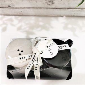 Rae Dunn Other - New Rae Dunn Salt And Pepper Black & White Shaker